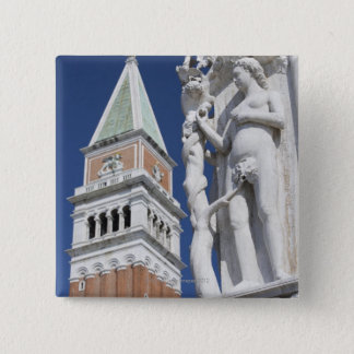 Eve in Garden of Eden Doges' Palace with 15 Cm Square Badge