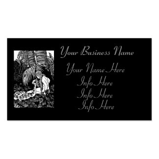 Eve In The Garden Business Cards