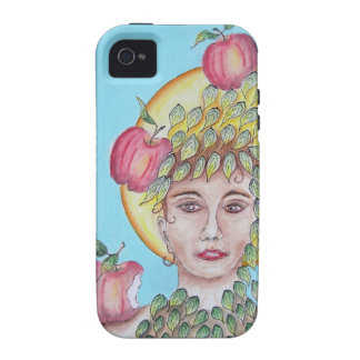 Eve with apples vibe iPhone 4 covers