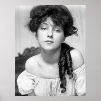 Evelyn Nesbit, c.1910 Poster