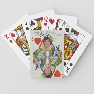 Evelyn Nesbit Queen of Hearts Playing Cards