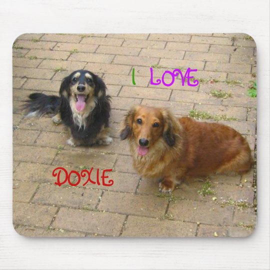 Even if in dachshund ♪ mouse pad