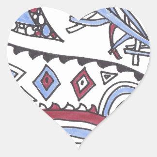 even more april doodles heart sticker