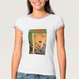 Even Swap - Original 1965 Lesbian Romance Novel Tee Shirts