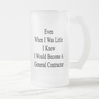 Even When I Was Little I Knew I Would Become A Gen 16 Oz Frosted Glass Beer Mug