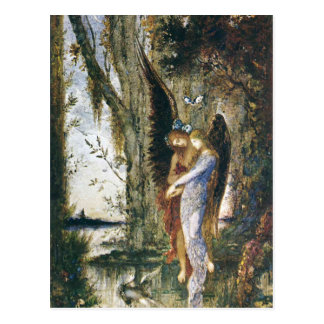 Evening and Sorrow by Gustave Moreau Postcard