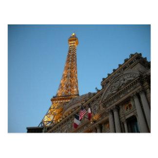 Evening at Paris Postcard