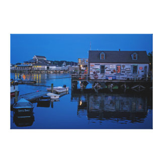 Evening at Scituate Canvas Print
