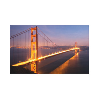 Evening at the Golden Gate Bridge Canvas Print