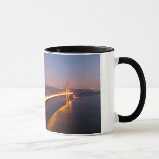 Evening at the Golden Gate Bridge mug