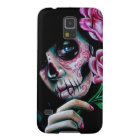 Evening Bloom Sugar Skull Girl Galaxy S5 Cover