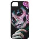 Evening Bloom Sugar Skull Girl iPhone 5 Cover