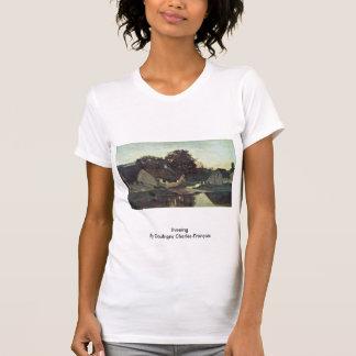 Evening By Daubigny Charles-François Tee Shirts