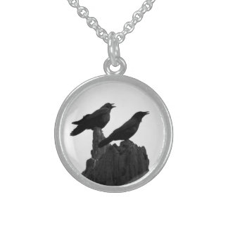 Evening Call Sterling Silver Necklace
