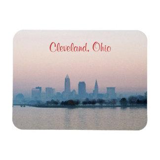 Evening Cleveland OH (Edgewater) Fridge Magnet