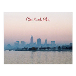 Evening Cleveland Postcard
