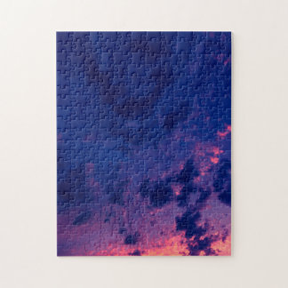 Evening clouds jigsaw puzzle