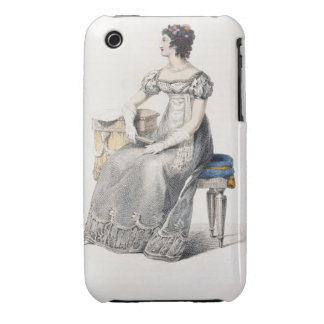 Evening dress, fashion plate from Ackermann's Repo Case-Mate iPhone 3 Case