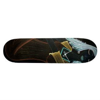 Evening Dress Inverted Skateboard