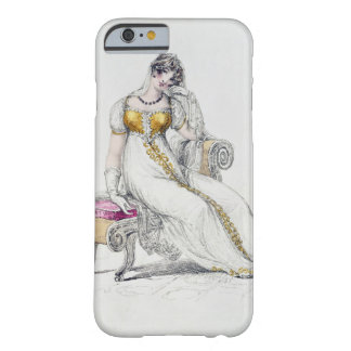 Evening dress or wedding dress, fashion plate from barely there iPhone 6 case