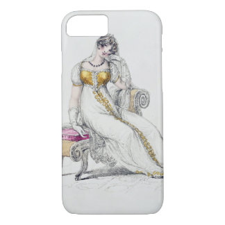 Evening dress or wedding dress, fashion plate from iPhone 8/7 case
