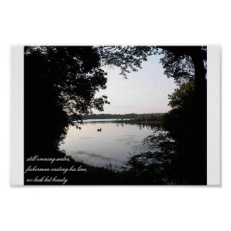 Evening Fisherman Posters