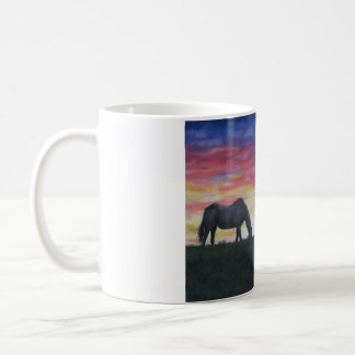 """Evening Grazin"" Coffee Mug"