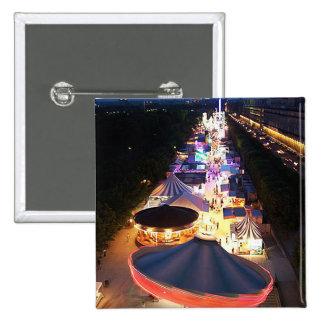 Evening in Paris 15 Cm Square Badge