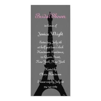 Evening in Paris Bridal Shower Invitation