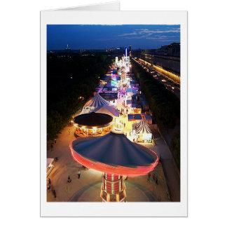 Evening in Paris Greeting Card