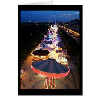 Evening in Paris Note Card