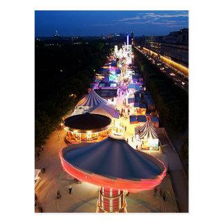Evening in Paris Postcard