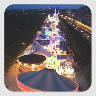 Evening in Paris Square Sticker