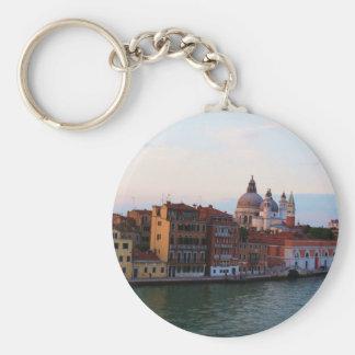 Evening in Venice, Italy Key Ring