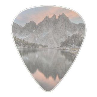 Evening Kearsarge Pinnacles Reflections Acetal Guitar Pick