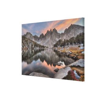 Evening Kearsarge Pinnacles Reflections Canvas Print