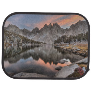 Evening Kearsarge Pinnacles Reflections Car Mat