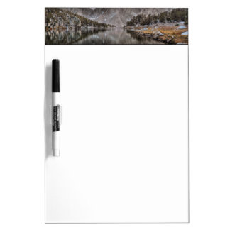 Evening Kearsarge Pinnacles Reflections Dry Erase Board