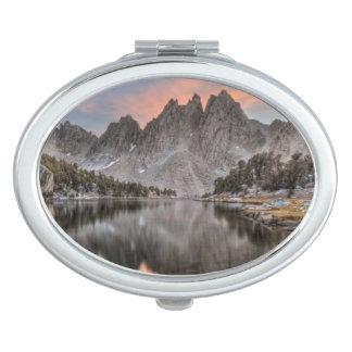 Evening Kearsarge Pinnacles Reflections Makeup Mirror