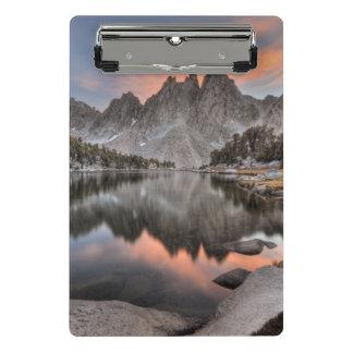 Evening Kearsarge Pinnacles Reflections Mini Clipboard