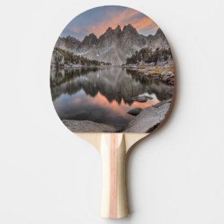Evening Kearsarge Pinnacles Reflections Ping Pong Paddle