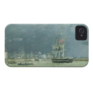 Evening, Le Havre, 1866 (oil on canvas) iPhone 4 Case