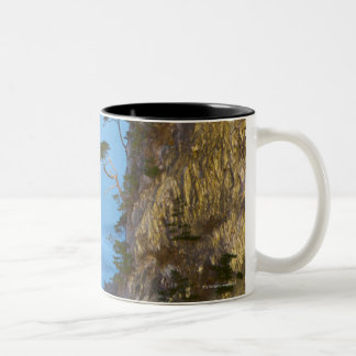 Evening on the Pacific Ocean. Rikuchu Kaigen Two-Tone Coffee Mug