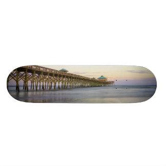 Evening Peace On Folly Beach Skate Boards