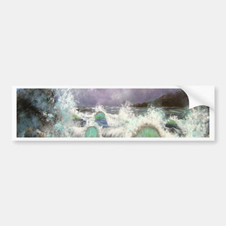 Evening Seascape Bumper Sticker
