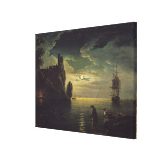 Evening Seascape Canvas Print