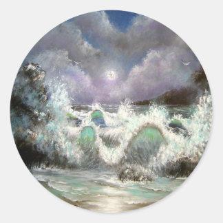 Evening Seascape Sticker
