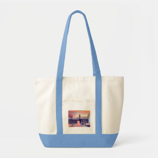 Evening-shadows Impulse Tote Bag