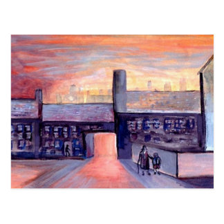 Evening Shadows Post Card
