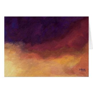 Evening Sky - Greeting Card